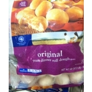 Kroger Yeast Dinner Roll Dough Original Calories Nutrition