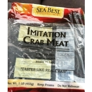 Sea Best Imitation Crab Meat: Calories, Nutrition Analysis & More | Fooducate