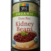 365 Everyday Value Organic Dark Red Kidney Beans Calories Nutrition Analysis More Fooducate