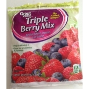 How many carbs in mixed berries