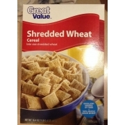 Great Value Shredded Wheat Cereal