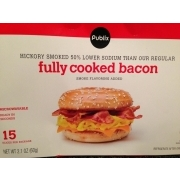 Publix Fully Cooked Bacon, Hickory