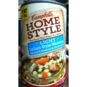 Campbell S Homestyle Light Italian Style Wedding Soup Nutrition