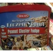 Braum S No Sugar Added Frozen Yogurt Peanut Cluster Fudge Calories Nutrition Analysis More Fooducate