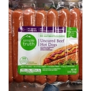 Simple Truth Uncured Beef Hot Dogs