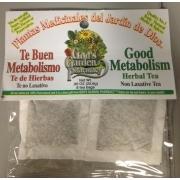 God 39 s garden pharmacy good metabolism herbal tea calories nutrition analysis more fooducate for God s garden pharmacy