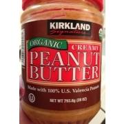 Kirkland Signature Creamy Peanut Butter Spread