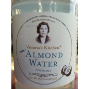 photo of victorias kitchen almond water coconut - Victorias Kitchen Almond Water