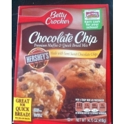 Betty Crocker Chocolate Chip Muffin Nutrition