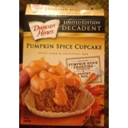 Duncan Hines Spice Cake Mix Nutrition Info