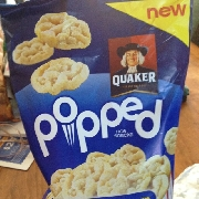 User Added Quaker Popped Mini Rice Cakes Buttered Popcorn Flavor Calories Nutrition Analysis More Fooducate
