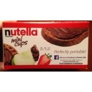 Nutella Mini Cups, Spread