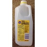 Kroger Cultured Lowfat Butter Milk Calories Nutrition
