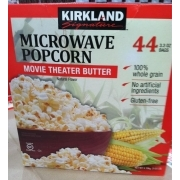 Kirkland Signature Movie Theater Er Popcorn Nutrition