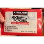 Kirkland Signature Microwave Popcorn Movie Theater Er