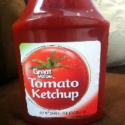 Tomato ketchup calories