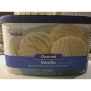 Great Value Churned Vanilla Light Ice Cream: Calories, Nutrition Analysis & More | Fooducate