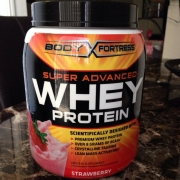 User added: Body Fortress Super Advanced Whey Protein - Strawberry, Protein supplement. nutrition ...