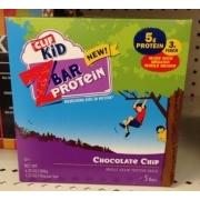 Clif Kid, Z Bar Protein, Chocolate Chip