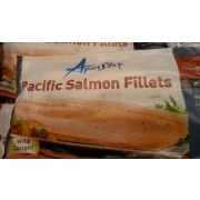 aqua star pacific salmon fillets calories nutrition analysis more fooducate. Black Bedroom Furniture Sets. Home Design Ideas