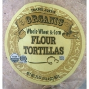 Trader Joe's Organic Whole Wheat & Corn Flour Tortillas: Calories, Nutrition Analysis & More ...