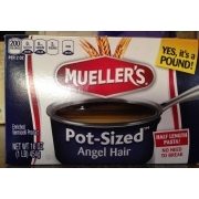 Mueller S Enriched Vermicelli Product Angel Hair Calories
