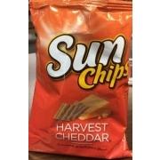sunchips multigrain snacks harvest cheddar calories nutrition