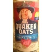 Quaker Oats Quick 1 Minute Nutrition Grade A Minus