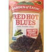 Garden of Eatin Red Hot Blues Tortilla Chips Calories Nutrition