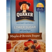 Photo Of Quaker Instant Oatmeal Maple Brown Sugar