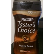Nestle Taster's Choice French Roast, Instant. nutrition grade A minus