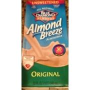 Almond breeze original unsweetened