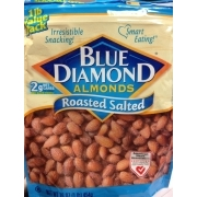 Blue Diamond Roasted Salted Almonds. nutrition grade A minus