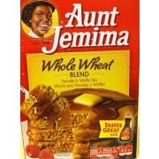 ... blend aunt jemima whole wheat blend whole wheat pancake and waffle