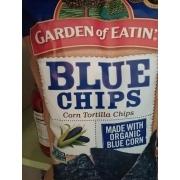 Garden of Eatin Corn Tortilla Chips Blue Chips Calories