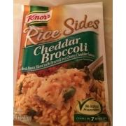 Knorr Rice Amp Sides Cheddar Broccoli Rice Amp Pasta Blend