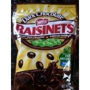 Calories In Dark Chocolate Raisinets
