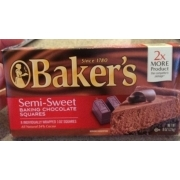Baker S Semi Sweet Chocolate Squares Candy Recipes