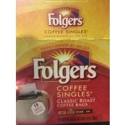 Folgers Coffee Singles Classic Roast Bags
