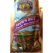 Brown Rice Cakes Nutrition