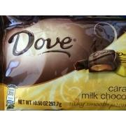 Dove Caramel Milk Chocolate Calories Nutrition Analysis More