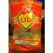Calidad Corn Tortilla Chips Mexican Restaurant Style