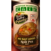 Health Valley Split Pea Soup, No Salt Added, Organic: Calories, Nutrition Analysis & More ...