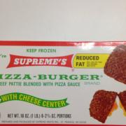 User added: Supreme's, Pizza Burgers Reduced Fat: Calories, Nutrition ...