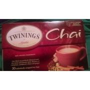 Twinings Of London Chai Tea. nutrition ...