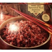Trader Joe's Sprouted Red Jasmine Rice: Calories, Nutrition Analysis & More | Fooducate