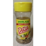 Does mrs dash have msg