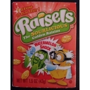 Raisels The Sourlicious Golden Raisins Calories Nutrition Analysis