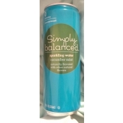 Simply Balanced Sparkling Water, Cucumber Mint: Calories, Nutrition Analysis & More   Fooducate