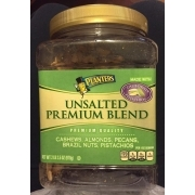 Planters Unsalted Mixed Nuts Nutrition on planters mixed nuts tin, planters salted mixed nuts, planters mixed nuts ingredients, planters roasted mixed nuts,
